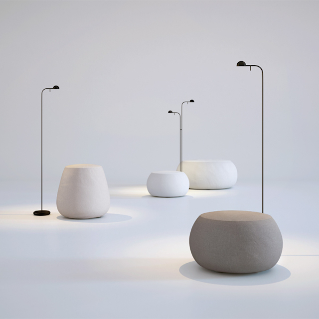 Lighting love | Eikelenboom | Pin floor lamp by Vibia