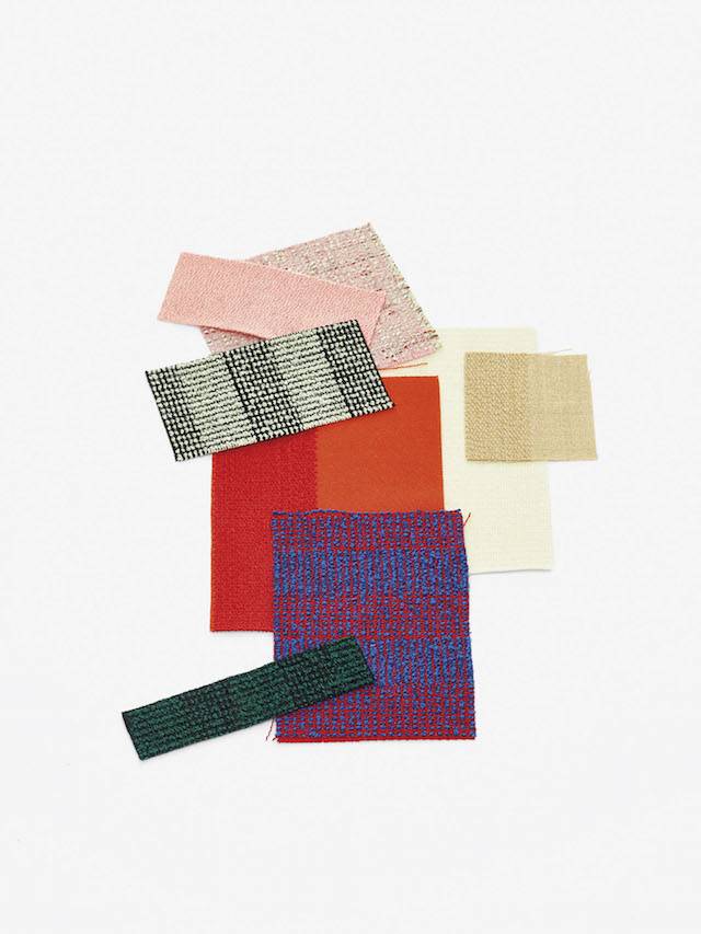 Raf Simons | Kvadrat | Reflex Pulsar Fuse textile collection