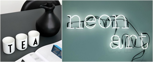fonQ Xmas design presents selection by C-More | Design letters + Seletti
