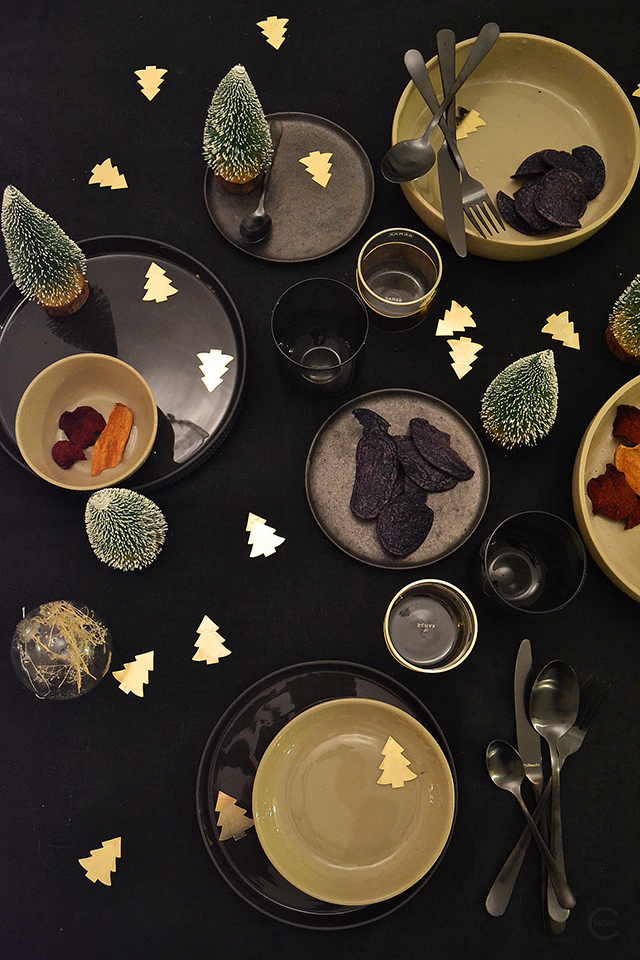 Xmas table styling | C-More