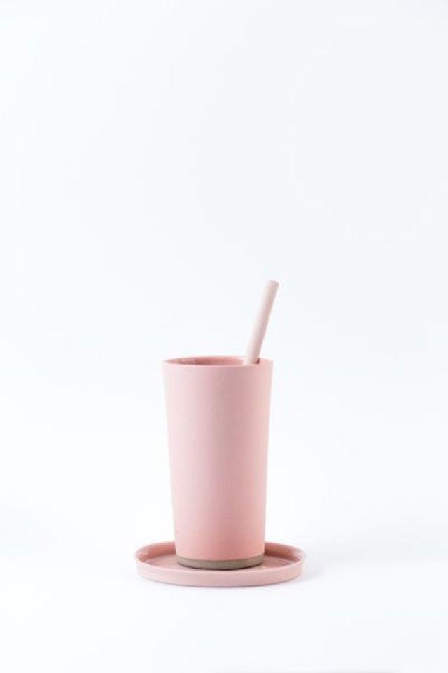 Latte set – Porcelain Pink By Nüüd Ceramics | Crowdyhouse | Elle Decoration selection 2017