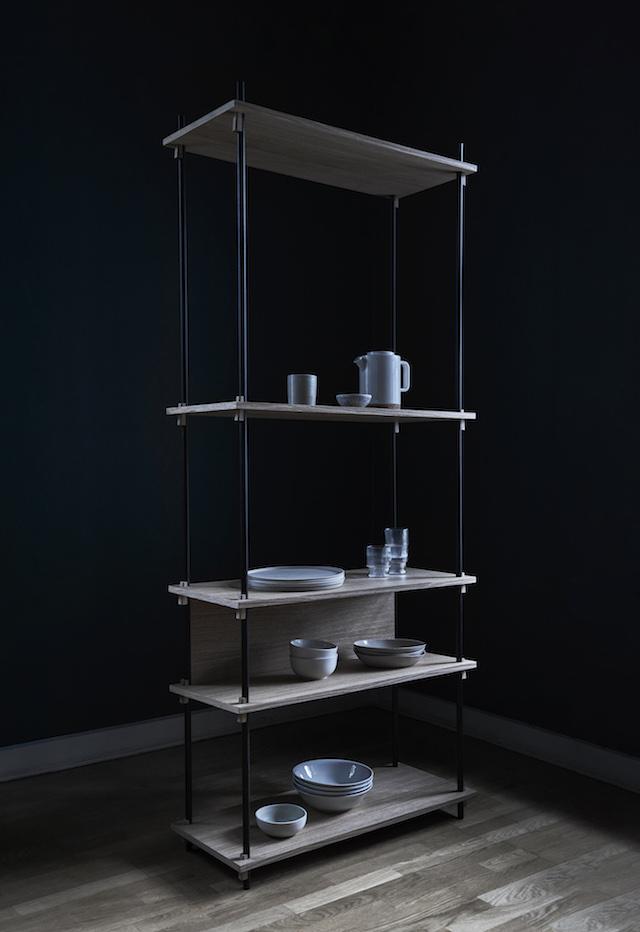 Moebe shelving system | Minimal Scandinavian Design |  Imm Cologne 2018