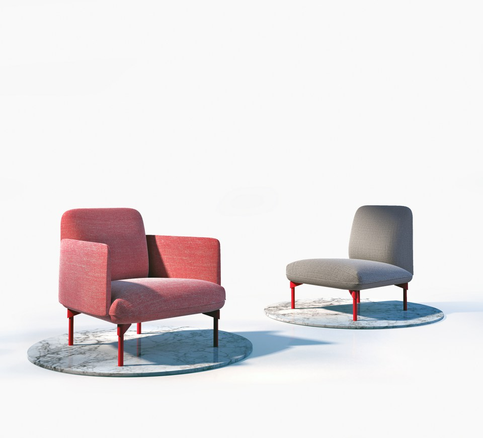 'BooK' y 'Blat', dos de las piezas de mobiliario que presentará la firma B&V.