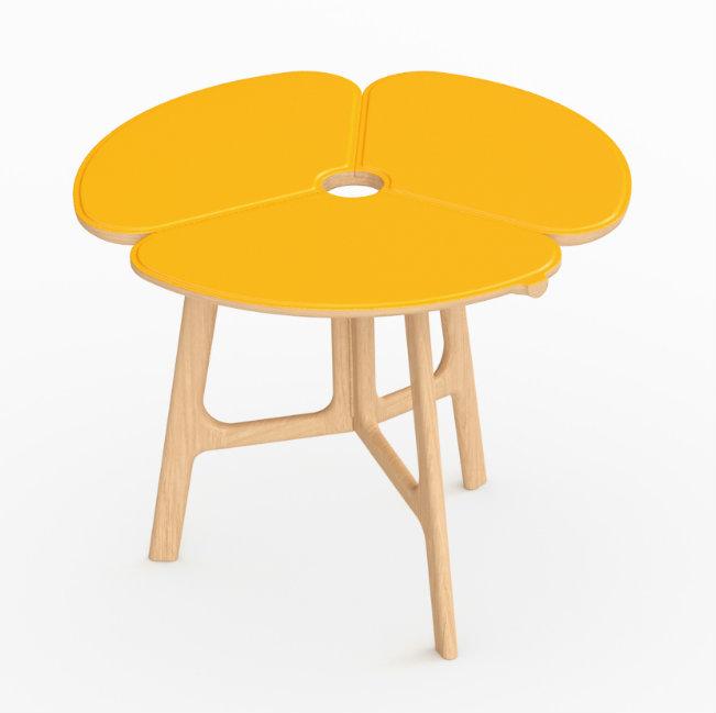 Mesa 'Concertina', diseño de Raw Edges para Louis Vuitton. Fotografía: cortesía Louis Vuitton Malletier.
