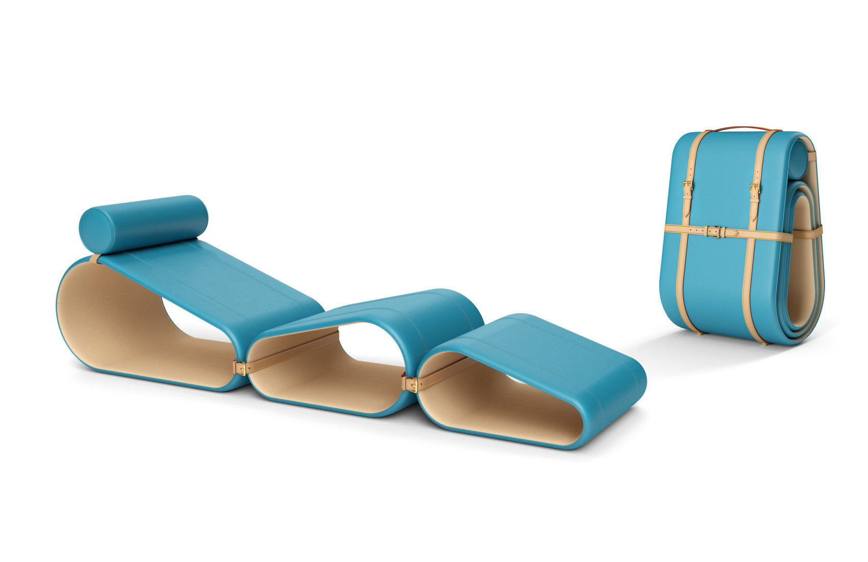 Chaise longue de Marcel Wanders para Louis Vuitton