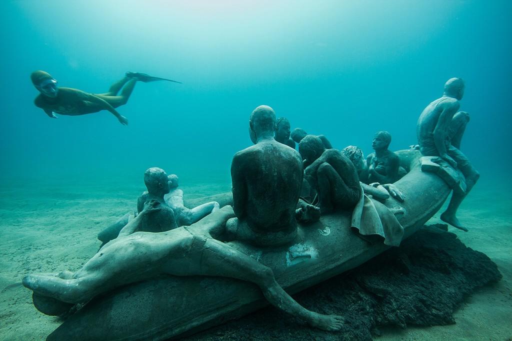 Instalación La Balsa de Lampedusa