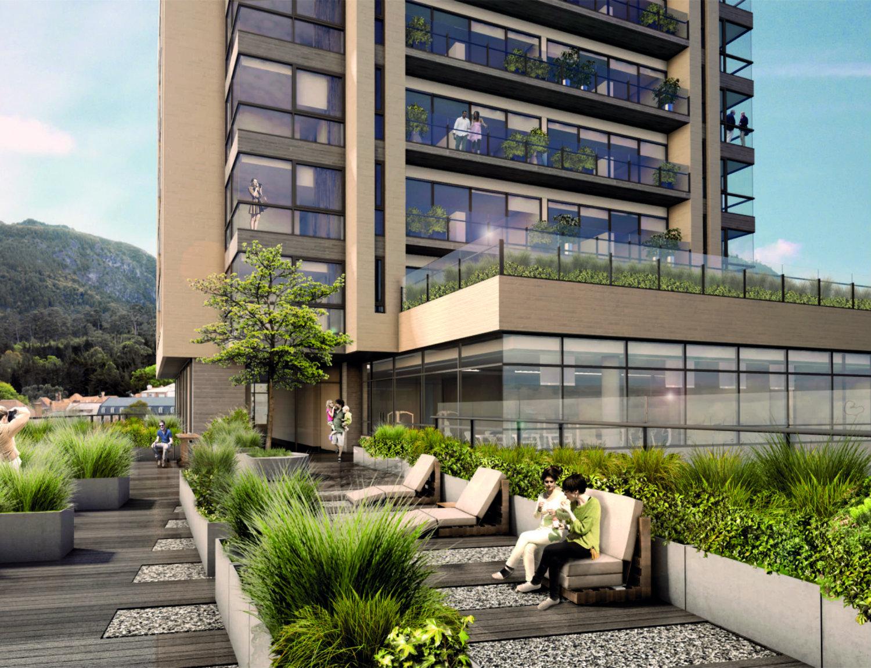 Una obra de altura arquitectura dise o decoraci n y for Viviendas para terrazas