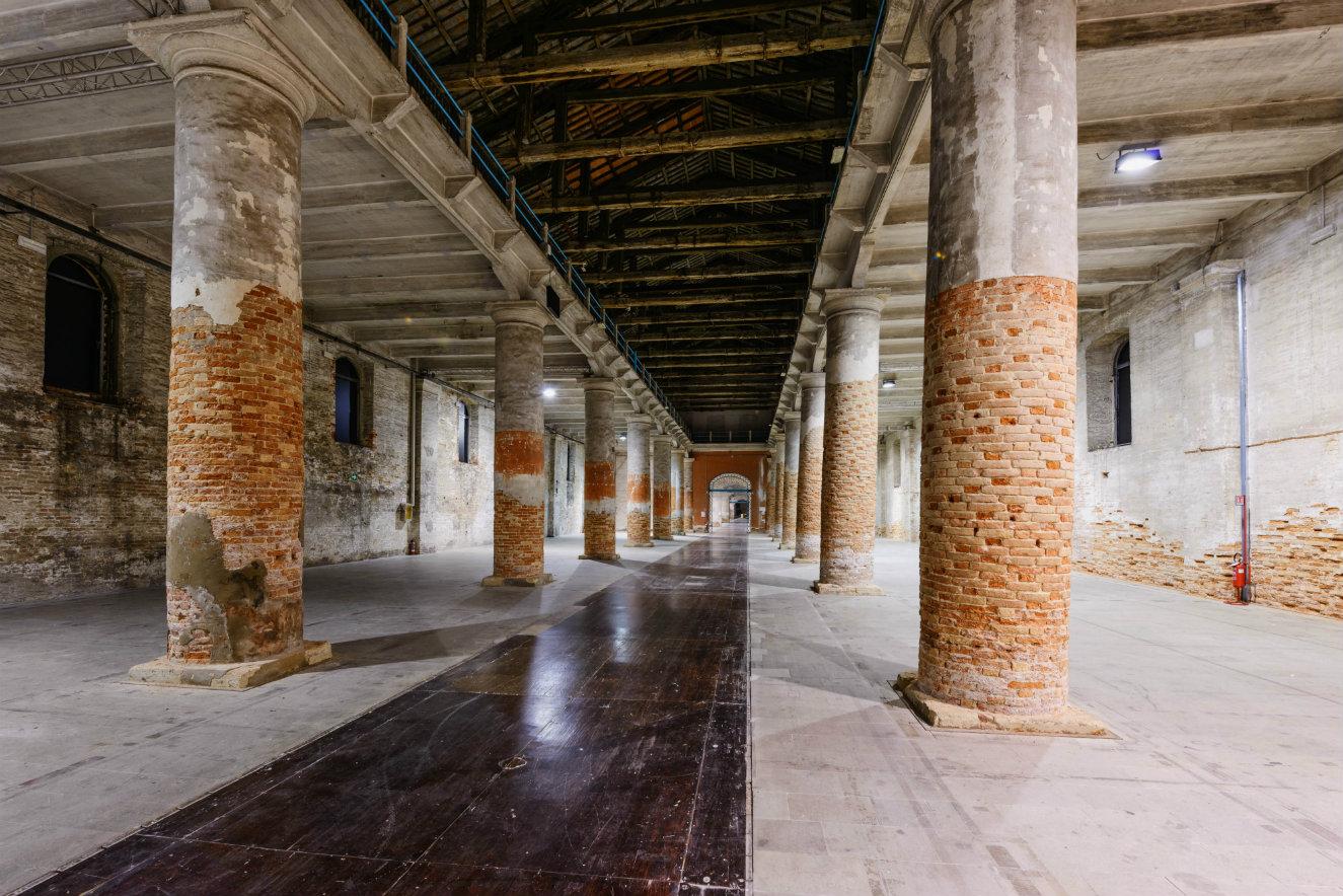 Corderie, otro de los espacios donde se desarrollará la exposición internacional. Fotografía: cortesía, Bienal de Venecia.
