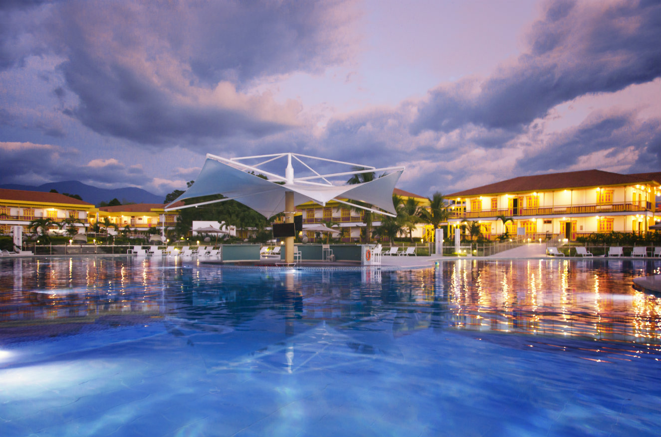 La piscina principal tiene 1.200 metros cuadrados. Fotografía: cortesía.