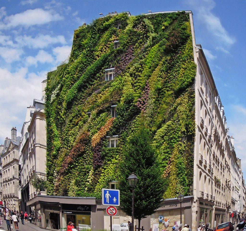 Jardines verticales arquitectura dise o decoraci n y for Historia de los jardines verticales
