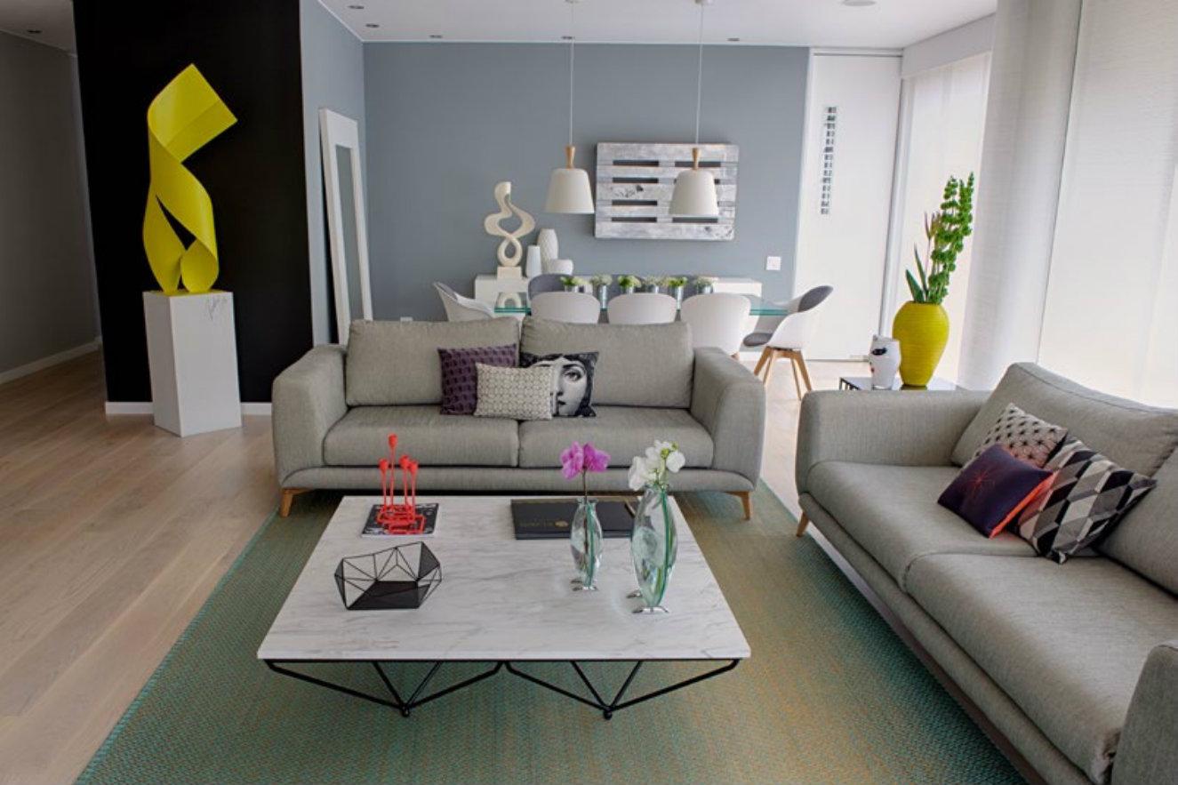 Verdi Design sala con tapete.