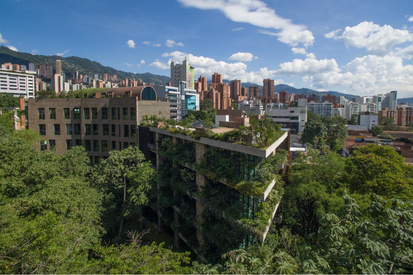 edificio de la Facultad de Enfermería de la Universidad Nacional de Colombia