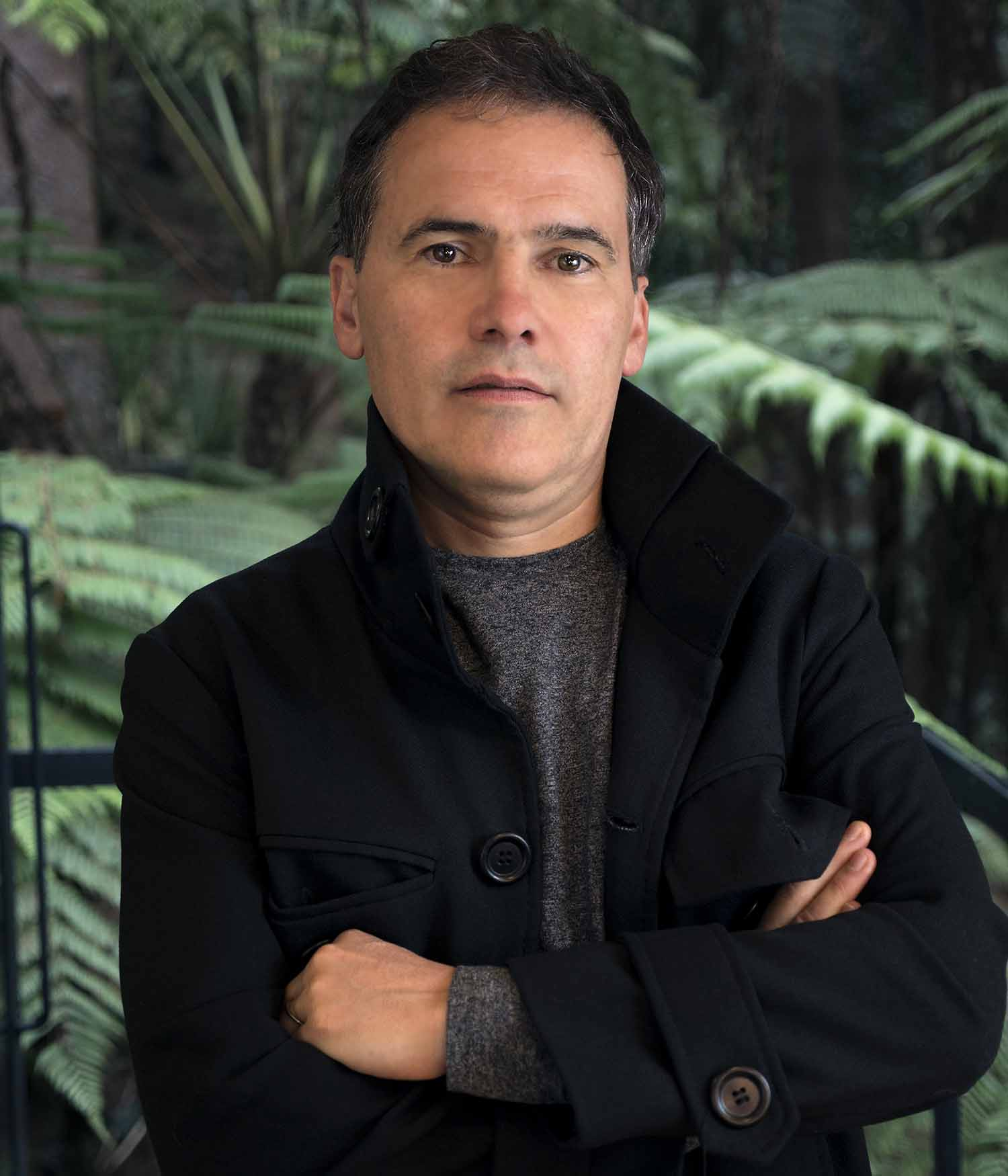 Arquitecto Felipe Uribe de Bedout, autor del libro Anfitrión. Fotografía: Juliana Gómez García, cortesía.