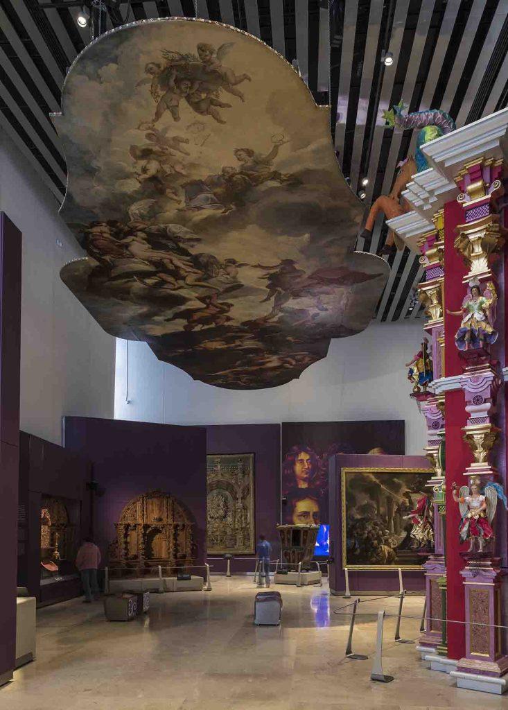 El museo cuenta con once salas de exhibición, ocho permanentes y tres temporales. La museografía es de Miguel Ángel Fernández Villar. Fotografía: cortesía Luis Gordoa.
