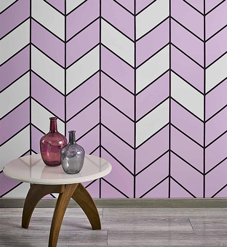 Para crear esta pared se usaron varios tonos de pintura Kölor, entre ellos Burquina Faso y Tempere. Fotografía: cortesía.