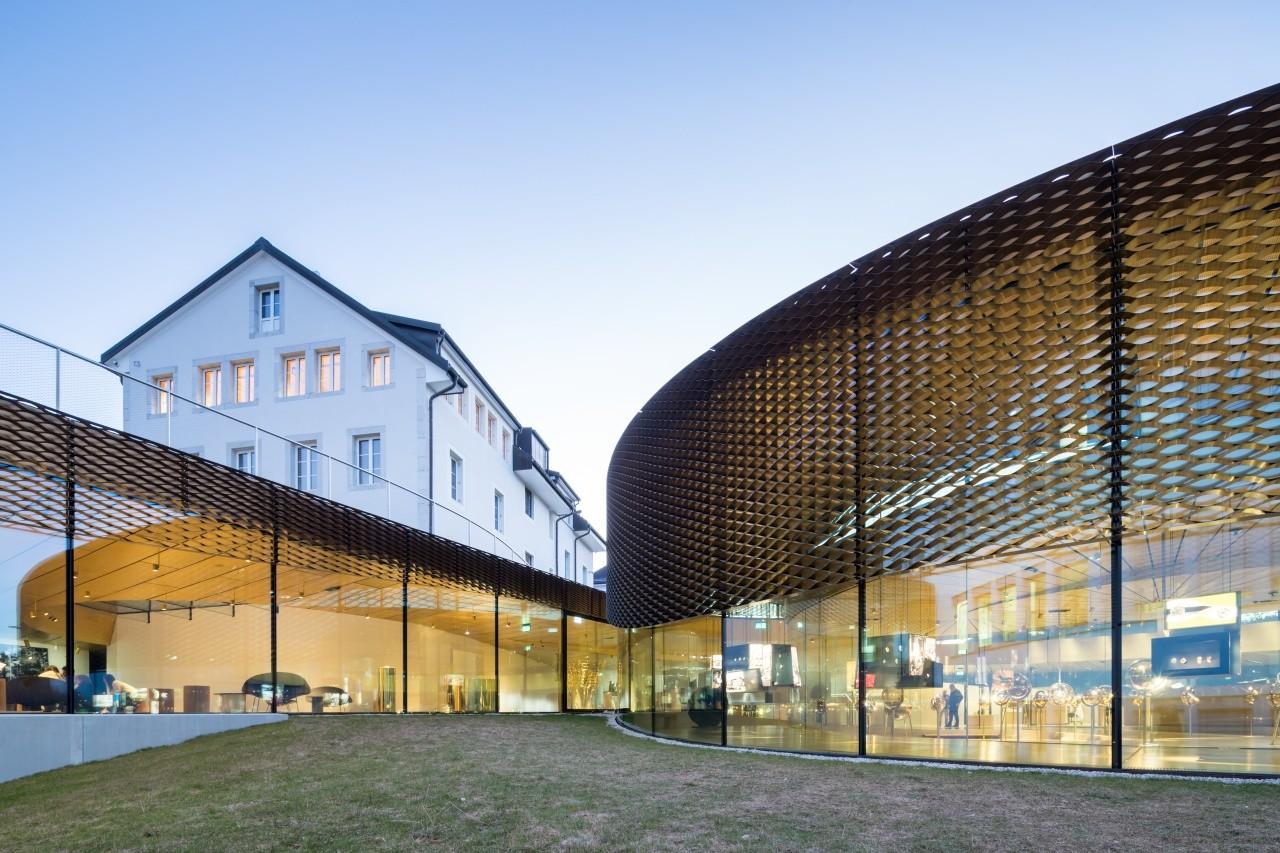Musée Atelier Audemars Piguet. Fotografía: Iwan Baan.