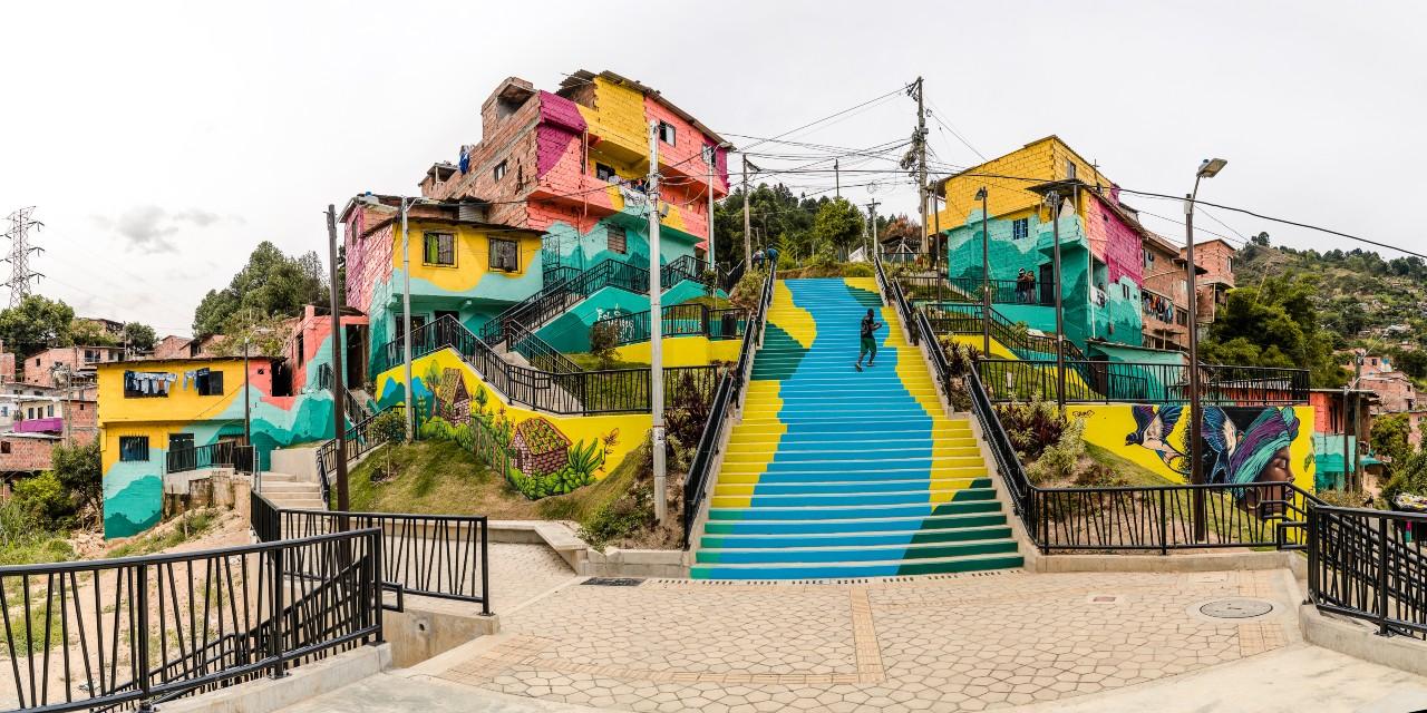 Paseo Las Torres Bienal Colombiana de Arquitectura.