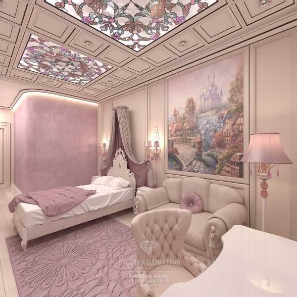Современные идеи дизайна детской комнаты для девочки ...