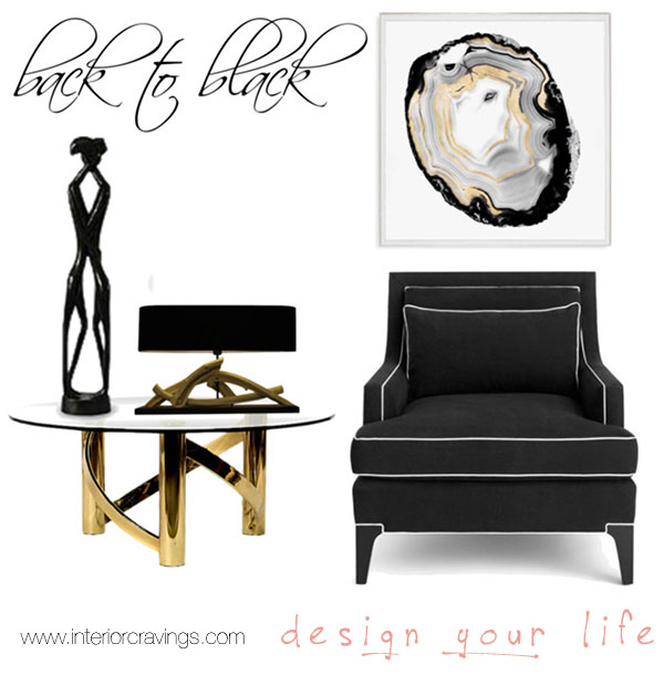 craving black details interior design round up 1