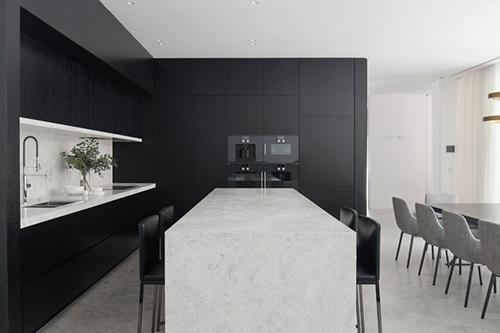 Nixon Tulloch Fortey marble house kitchen