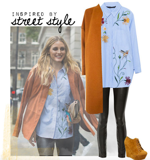 inspired by street style olivia palermo london 2016