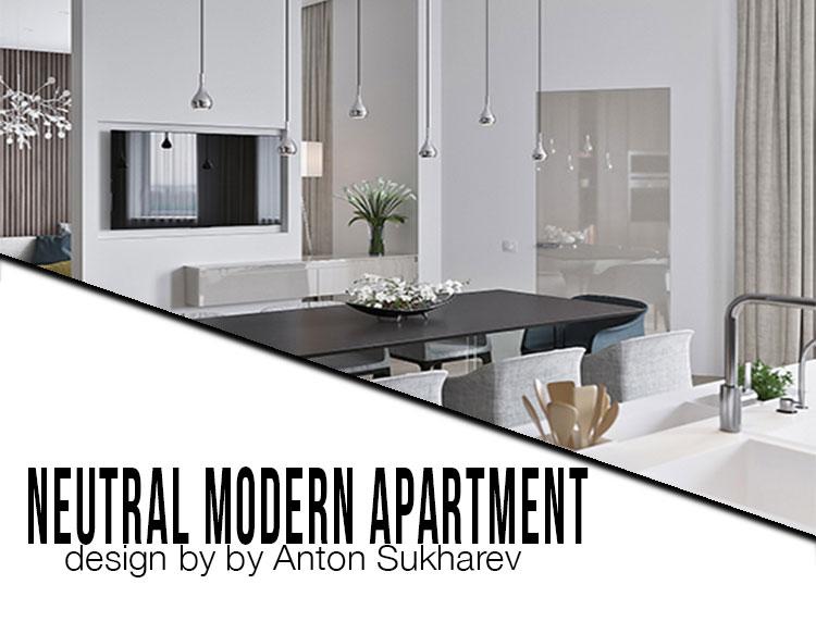 interior cravings neutral modern apartment by anton sukharev