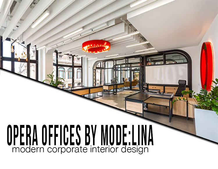 opera offices by modelina
