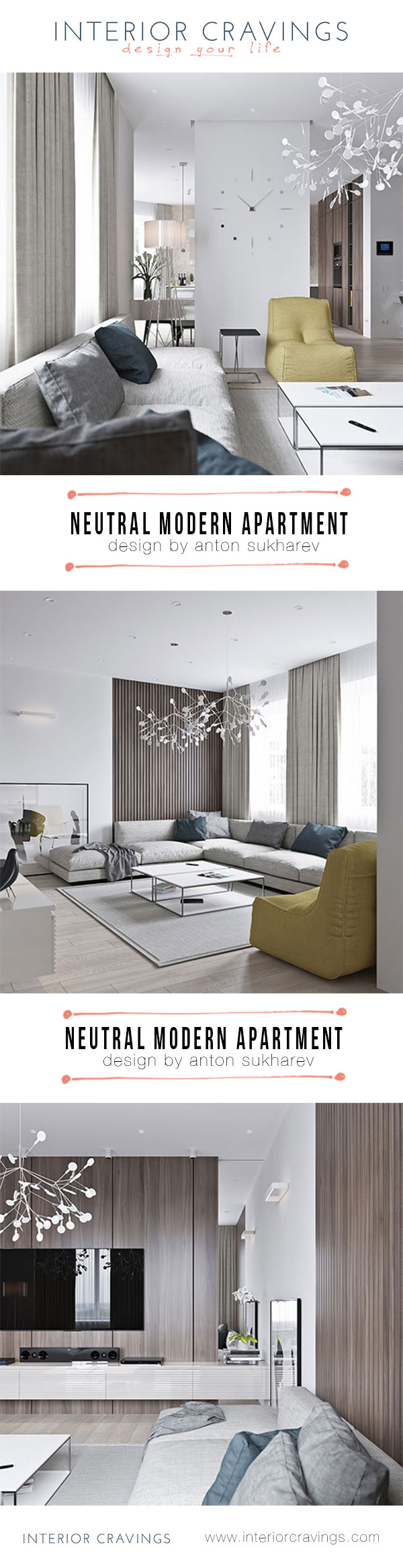 interior cravings neutral modern apartment living room by anton sukharev interior design