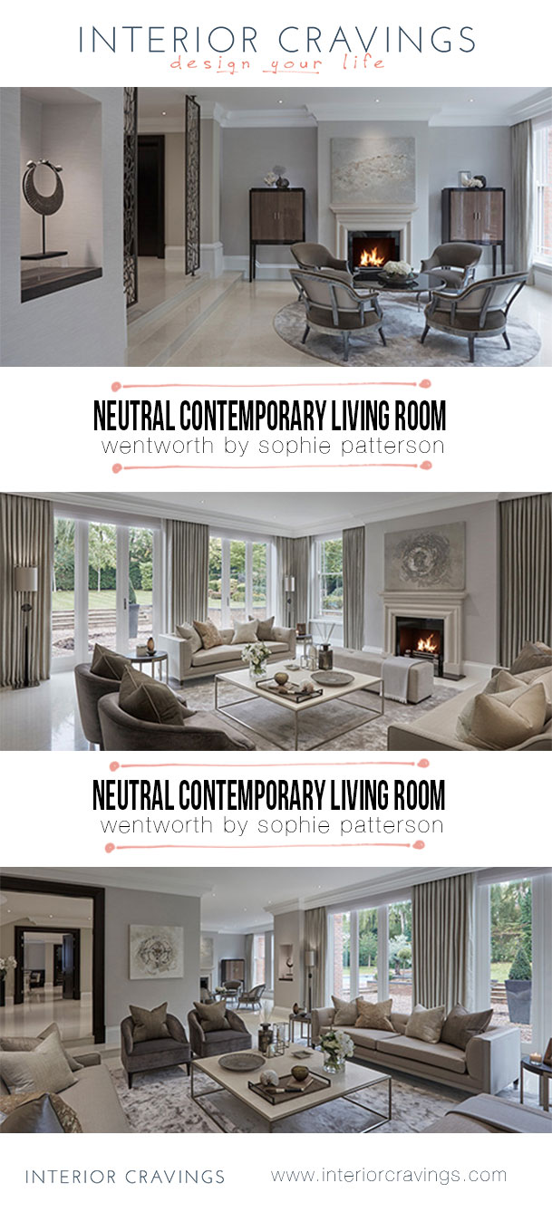 interior cravings wentworh neutral contemporary living room by sohpie patterson interior design