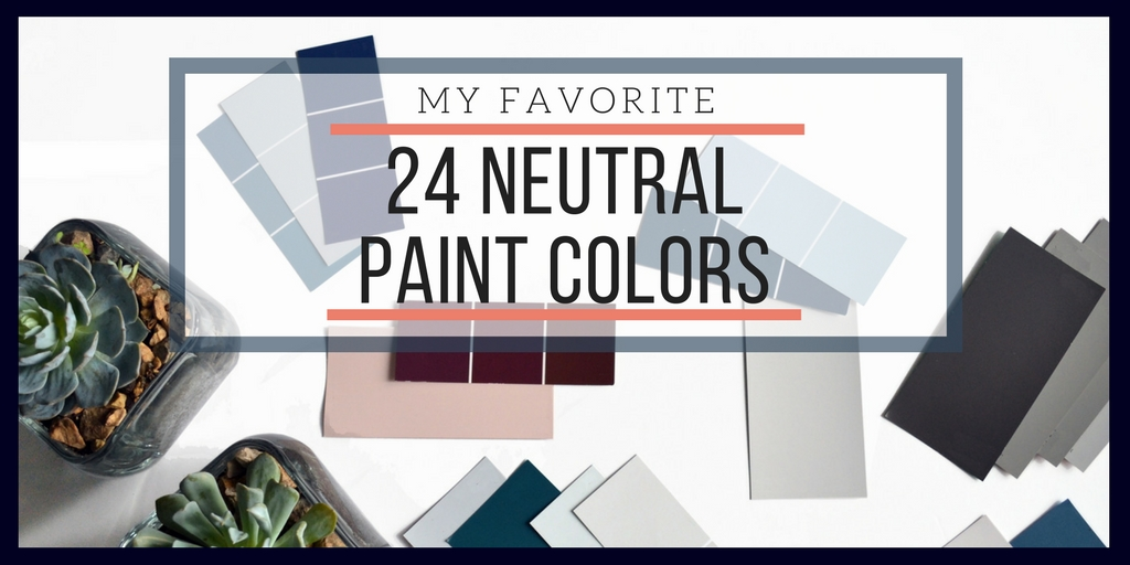interior cravings 24 NEUTRAL PAINT COLORS banner