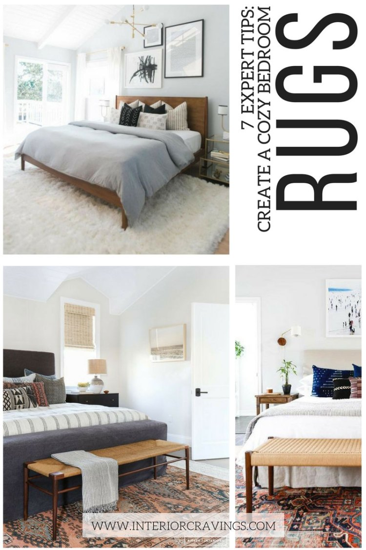 7 expert tips to help you create a cozy master bedroom - tip 6 incorporate area rugs in your design