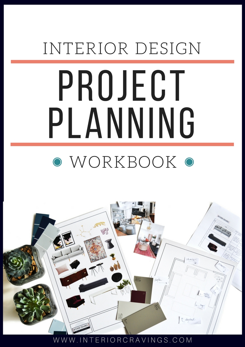 INTERIOR CRAVINGS project planning workbook cover