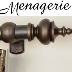 menagerie curtain rods drapery
