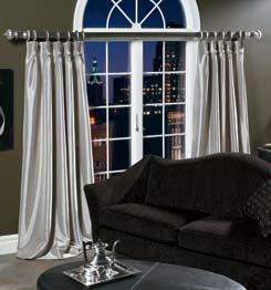 decorative curtain rods hardware