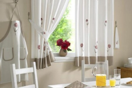 Things to consider before selecting kitchen curtain     Interior     l somerst kitchen curtains 000