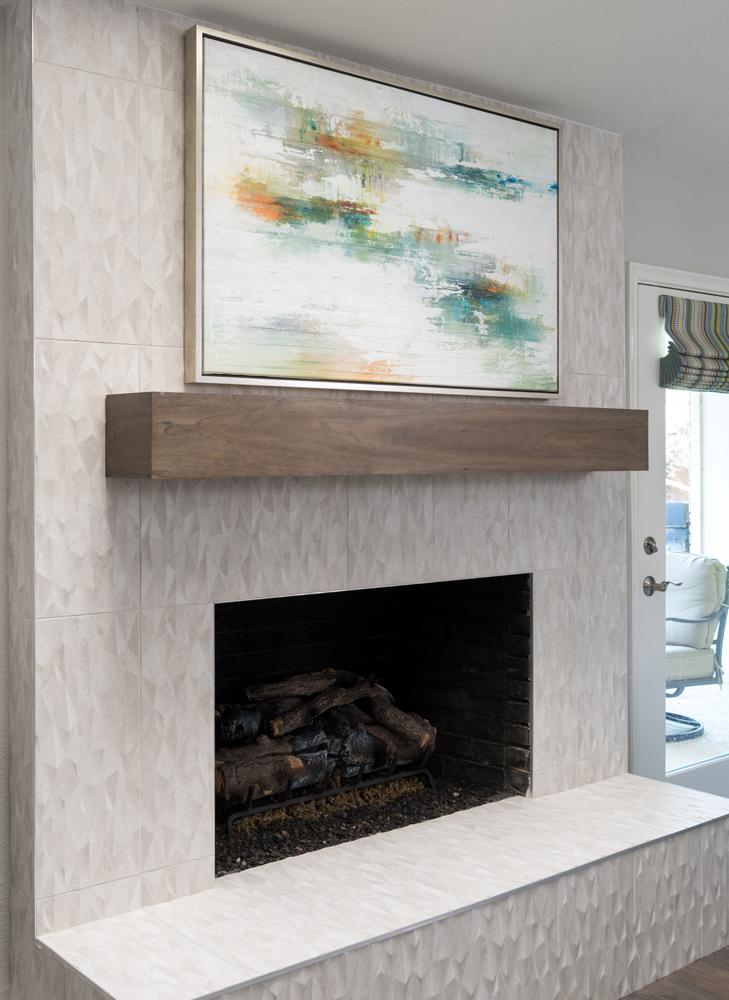 Family Room Decor Fireplace
