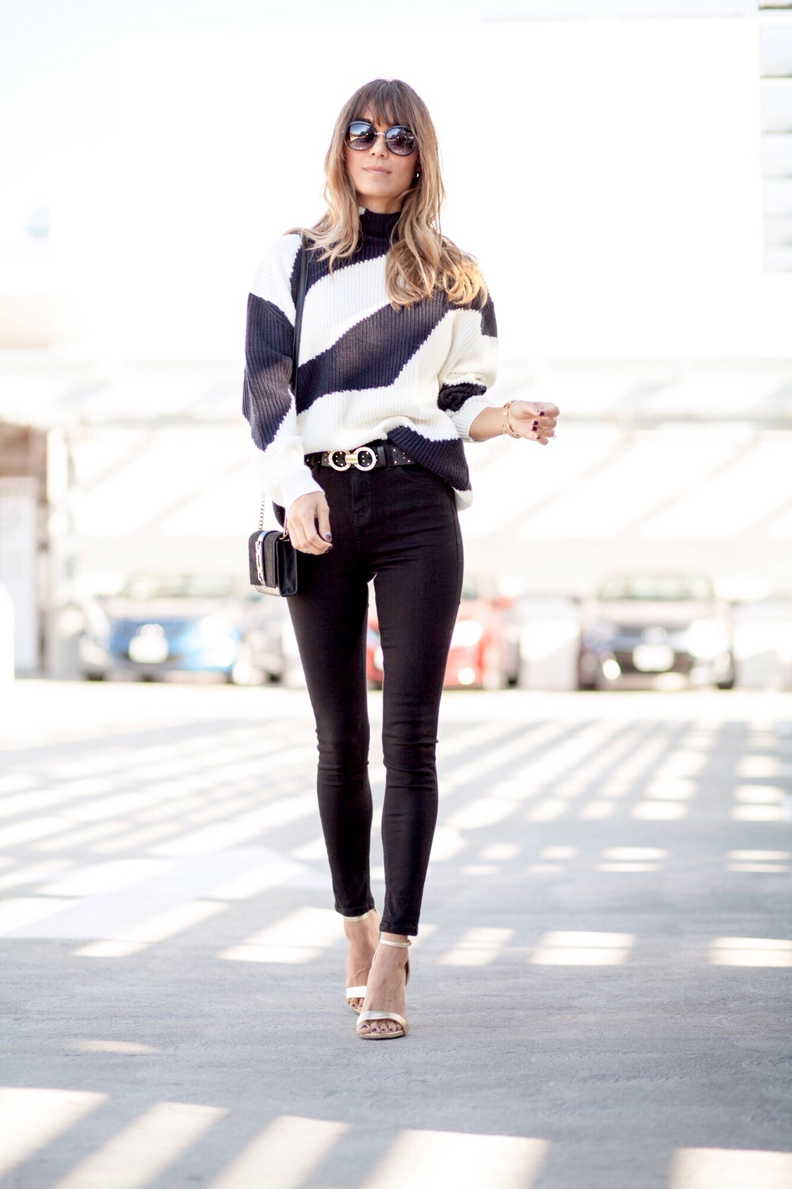 Perfect skinny black jeans