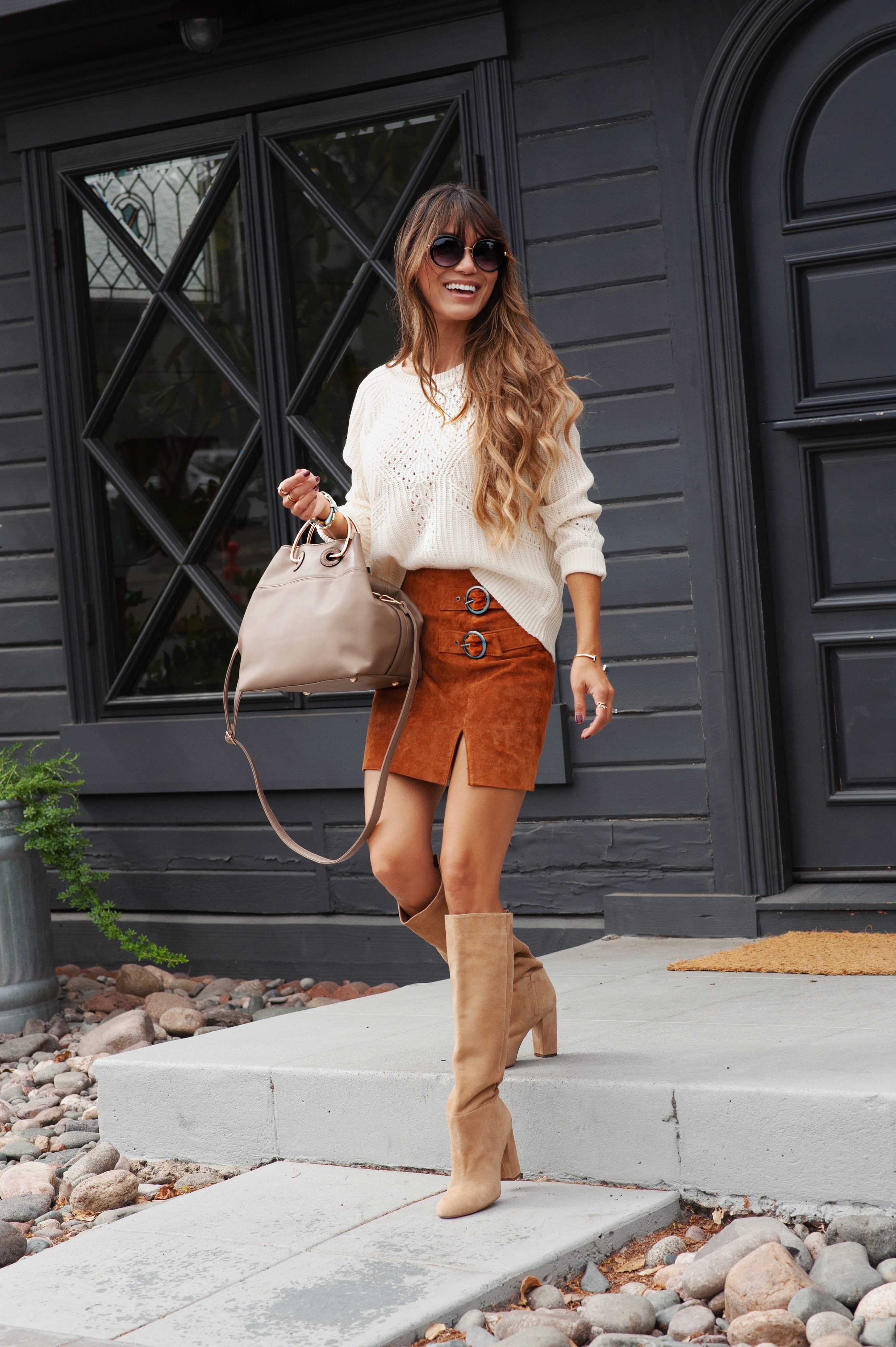Fall Worthy Skirt Boot Combo - A personal blog by Jen Adams c65778206