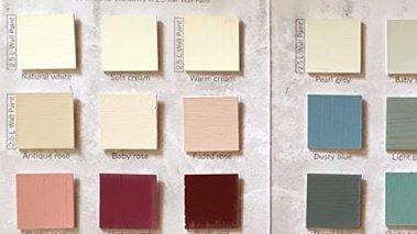 Effetti particolari per realizzare abbinamenti con stile e personalità. Cartella Colori Vintage Paint 2 Interior Design Fai Da Te
