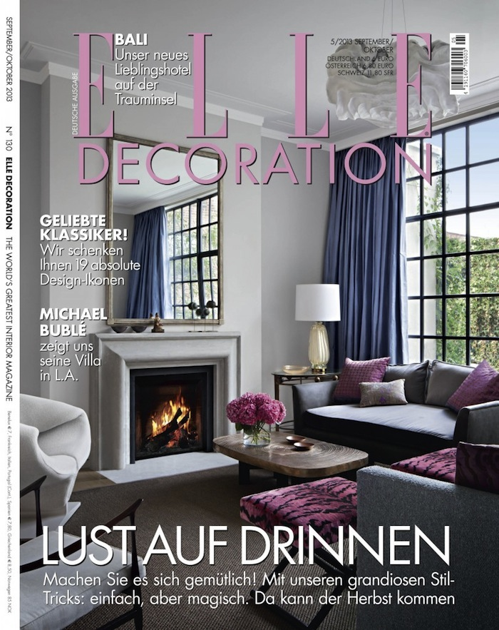 elle decor interior design magazine. Black Bedroom Furniture Sets. Home Design Ideas