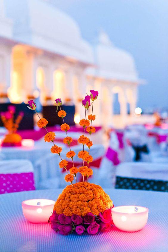 diwali centre table decoration