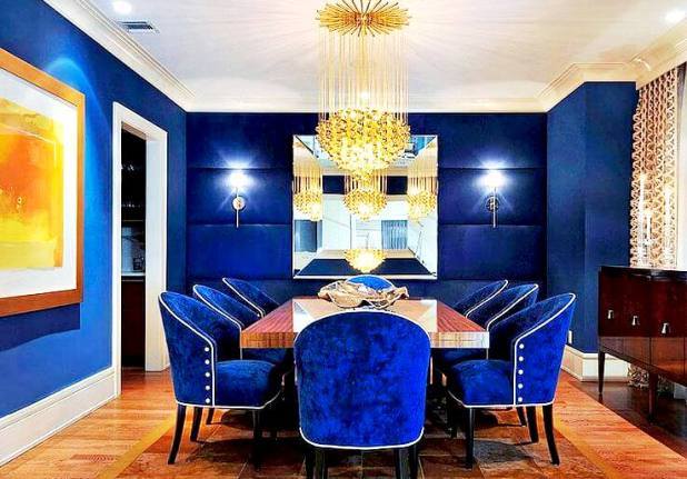 beautiful-blue-themed-dining-room