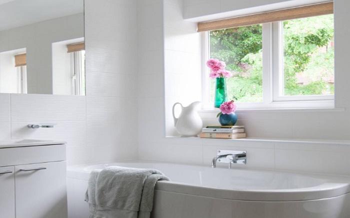 Attirant Ideas For Bathroom Window Wills 2:
