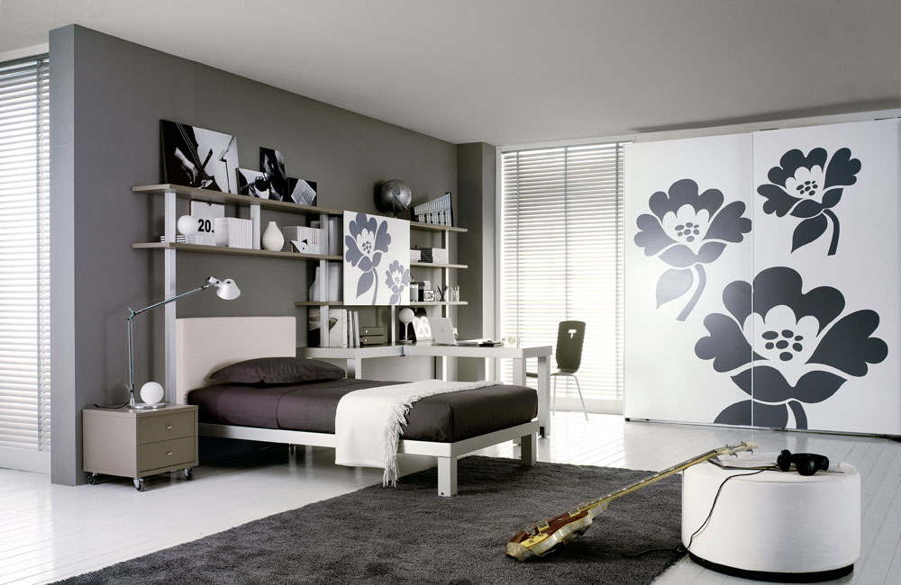 Interior Exterior Plan   Compromise with your teen on one ... on Teenage Grey Small Bedroom Ideas  id=88713