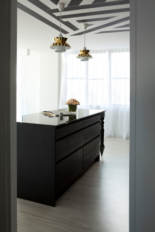 Avant Garde Monochromatic Apartment By James Dawson