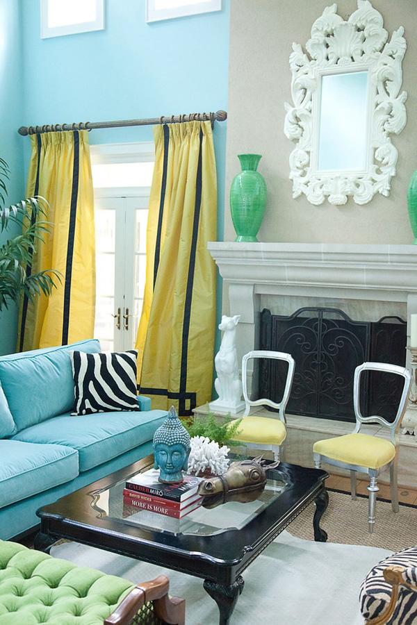 Bohemian Living Room Design Ideas | InteriorHolic.com on Room Decor Photos  id=71292