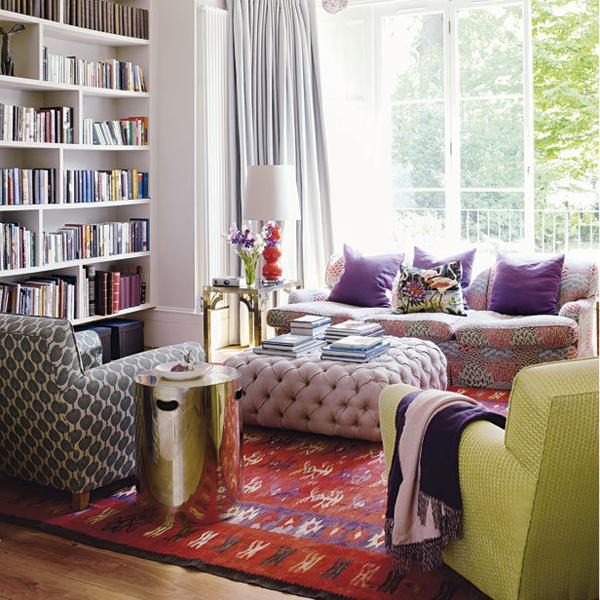 Bohemian Living Room Design Ideas | InteriorHolic.com on Bohemian Living Room Decor Ideas  id=55073