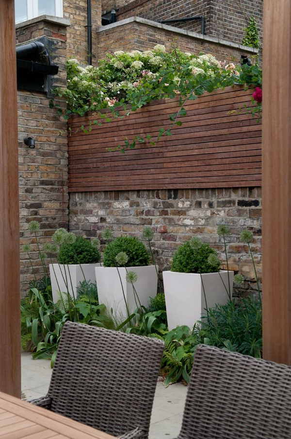 Charming Urban Garden Ideas | InteriorHolic.com on Small Urban Patio Ideas id=82609