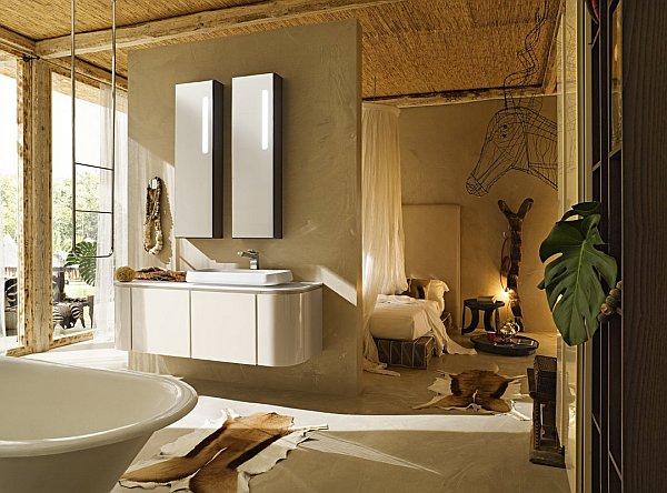 Dramatic Bathroom Design Ideas