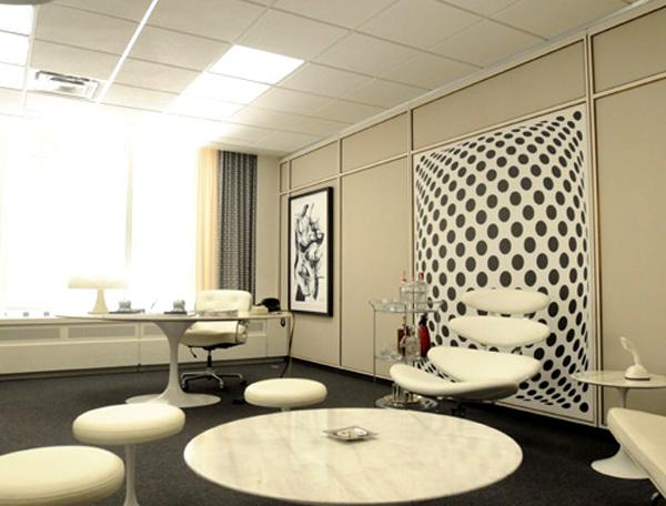 TV Show Set Mad Men Interior Designs